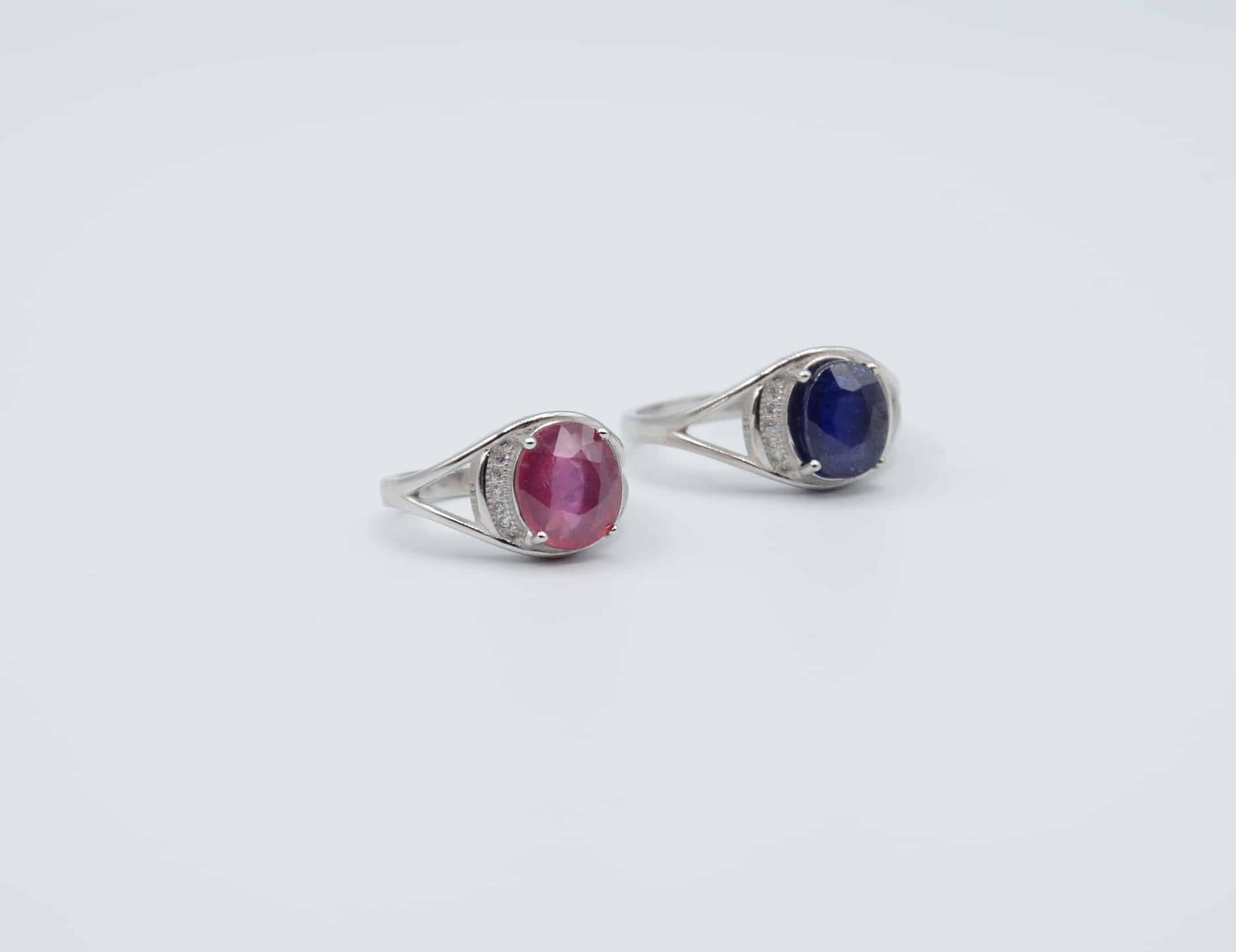 stud wg cut faceted pc petra collections class szor products earrings palladium lilac multisapphire and sapphire copy studs rose