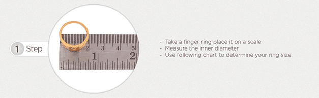Ring Size Guide - Al Noor Gems and Jewellers | Ring Size