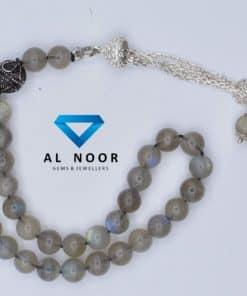 tasbih with labradorite beads