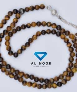tasbih with tiger eye beads