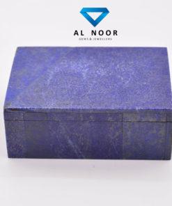 Natural Lapis Jewellery Box