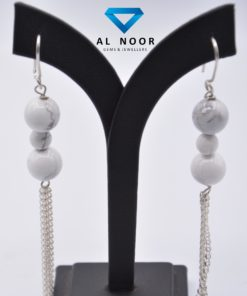 Howlite Earrings in Pakistan