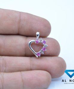 Ruby /Diamond Pendant